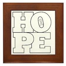 Hope Hollow Ribbon Framed Tile