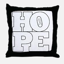 Hope Hollow Ribbon Throw Pillow