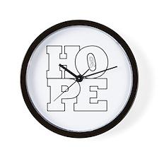 Hope Hollow Ribbon Wall Clock