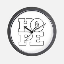 Hope Hollow Ribbon Wall Clock