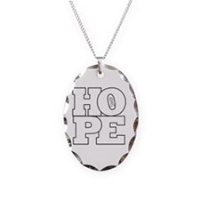 Hope Hollow Ribbon Necklace