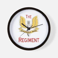 The Regiment Wall Clock