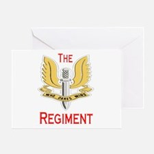 The Regiment Greeting Card
