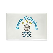 Beach Volleyball Magnets