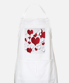 Red Hearts Apron
