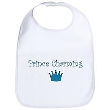 Prince Charming baby bib