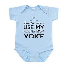 Hockey mom voice Body Suit