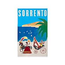 Sorrento, Italy, Vintage Travel Poster 3'x5' Area