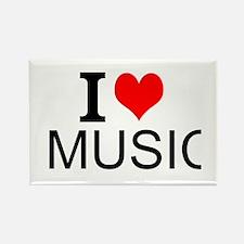 I Love Music Magnets