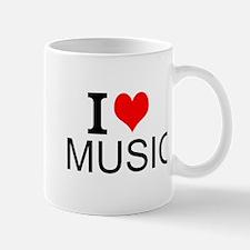 I Love Music Mugs