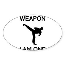 Don't need weapon I am one Decal