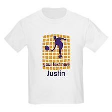 Sport Tennis Hobby Motivational Orange Purple Logo