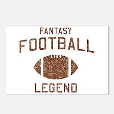 Fantasy football legend Postcards (Package of 8)
