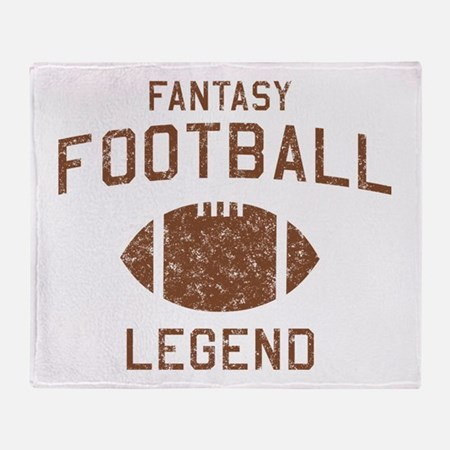 Fantasy football legend Throw Blanket