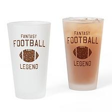 Fantasy football legend Drinking Glass