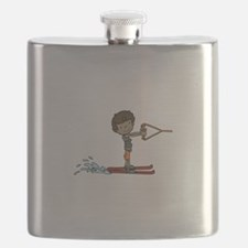 Water Ski Boy Flask