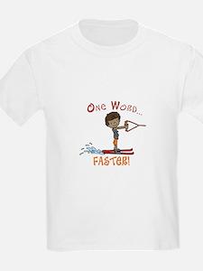 Water Ski Faster T-Shirt