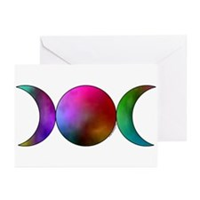 Triple Moon Greeting Cards - Watercolor (6)