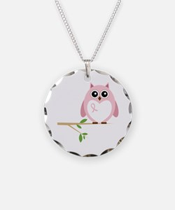 Awareness Owl Necklace