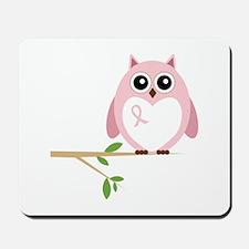 Awareness Owl Mousepad