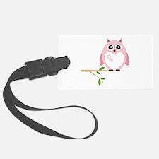 Awareness Owl Luggage Tag