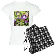 Hydrangea closeup Pajamas