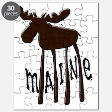 Maine Moose Puzzle