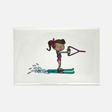 Water Ski Girl Magnets