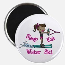 Sleep Eat Water Ski Magnets