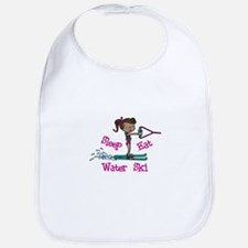 Sleep Eat Water Ski Bib