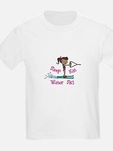 Sleep Eat Water Ski T-Shirt