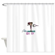 Hit It Shower Curtain