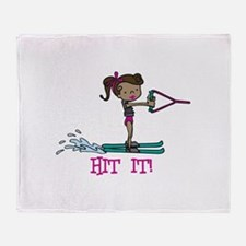 Hit It Throw Blanket