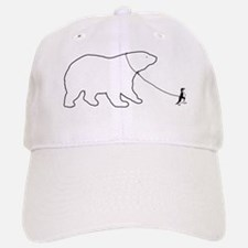 Penguin and Polar Bear Baseball Baseball Baseball Cap