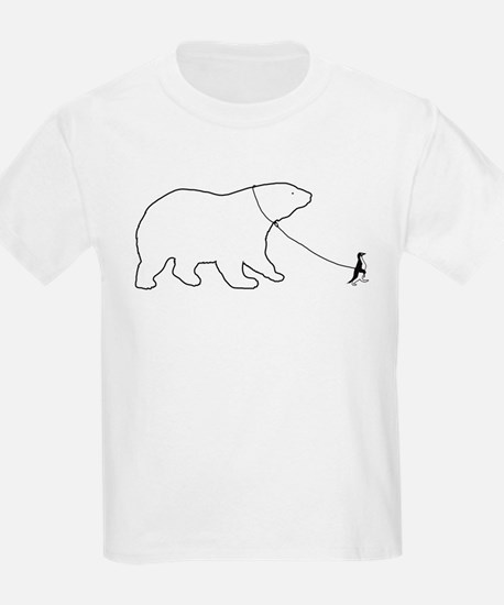 Penguin and Polar Bear T-Shirt