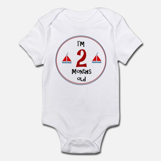 I'm 2 Months Old Body Suit