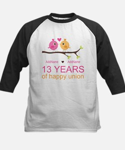 13th Anniversary Personalized Tee