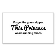 Forget the glass slipper Decal