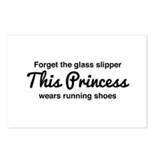 Forget the glass slipper Postcards (Package of 8)