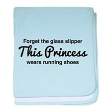 Forget the glass slipper baby blanket