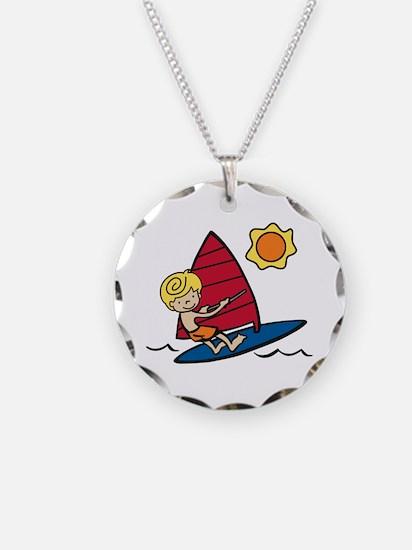 Windsurf Boy Necklace