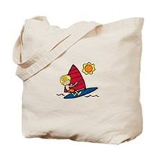 Windsurf Boy Tote Bag