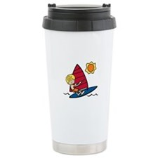 Windsurf Boy Travel Mug