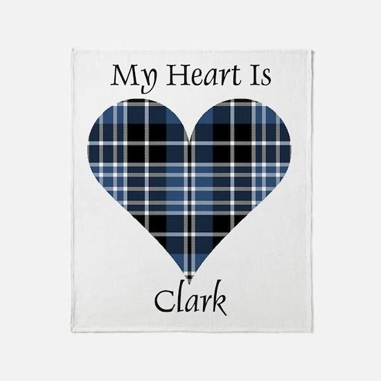 Heart - Clark Throw Blanket
