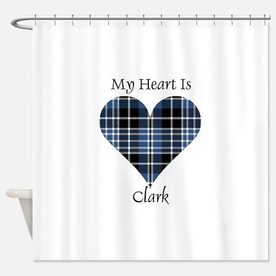 Heart - Clark Shower Curtain