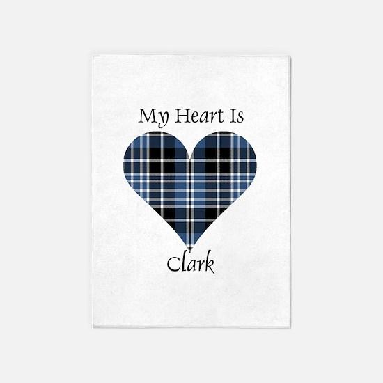 Heart - Clark 5'x7'Area Rug