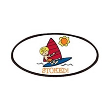 Windsurf Stoked Patches