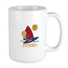 Windsurf Stoked Mugs