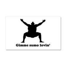Gimme some lovin sumo Car Magnet 20 x 12