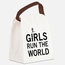 Girls run the world Canvas Lunch Bag